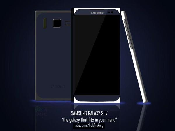 Samsung Galaxy S4 concept 1 Samsung Galaxy S4: Nouveau Concept en Attendant 2013