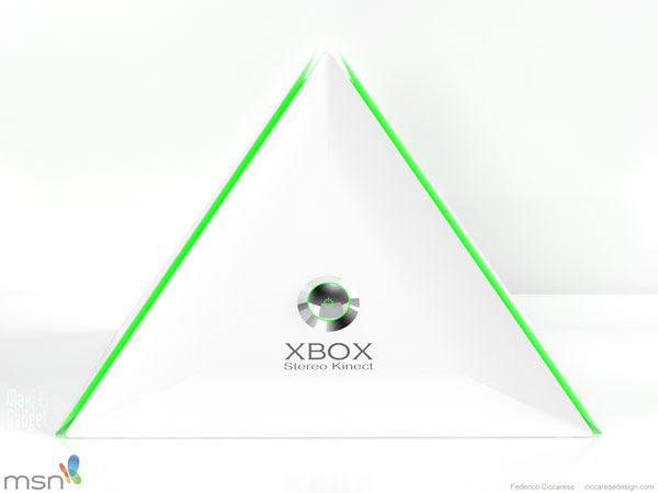 xbox 720 stereo kinect futur concept nouveau design