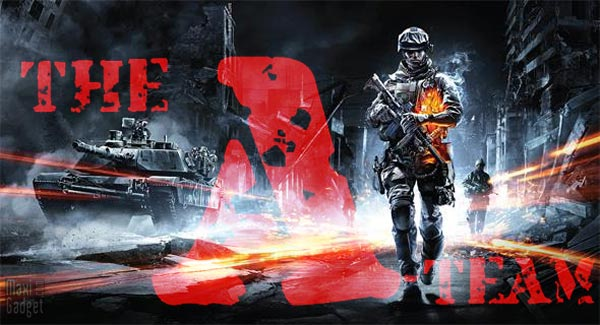battlefield3 ATeam Version Gnrique Agence Tous Risques pour Battlefield 3 en Vido