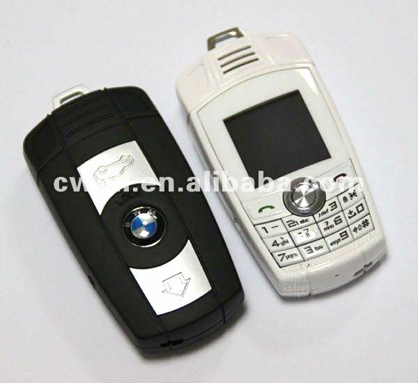 telephone mobile gsm en forme de cle bmw x