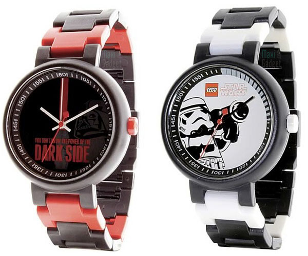 lego star wars montre darth vader stormtrooper
