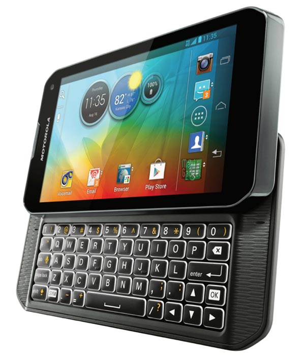 motorola photon q officiel Motorola Photon Q: Smartphone 4G Clavier Physique Android 4.0