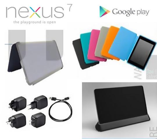 nexus 7 accessoires officiels pour la tablette google dispo