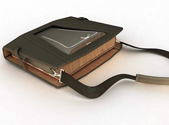 openaire sacoche notebook 3 en 1 (poste de travail, chaise, support)