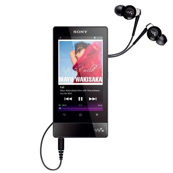 nouveau sony walkman f800 pmp android ics wifi