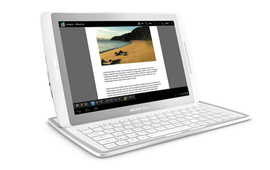 archos 101 xs tablet android ics dock clavier Archos 101 XS officiel: Vidéo Tablette G10 avec dock clavier