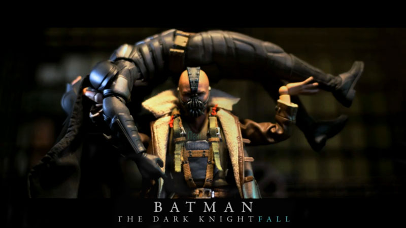 batman dark knightfall remake stop motion Batman Dark Knightfall: Incroyable Film Stop Motion Full HD