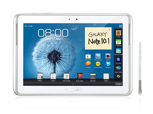 galaxy note 10 1 officiel dispo aux usa Samsung officialise le Galaxy Note 10.1: Video Prise en Main