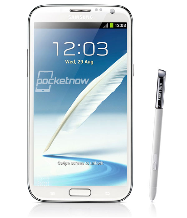 nouveau samsung galaxy note 2 androphone hd quad core 4G LTE