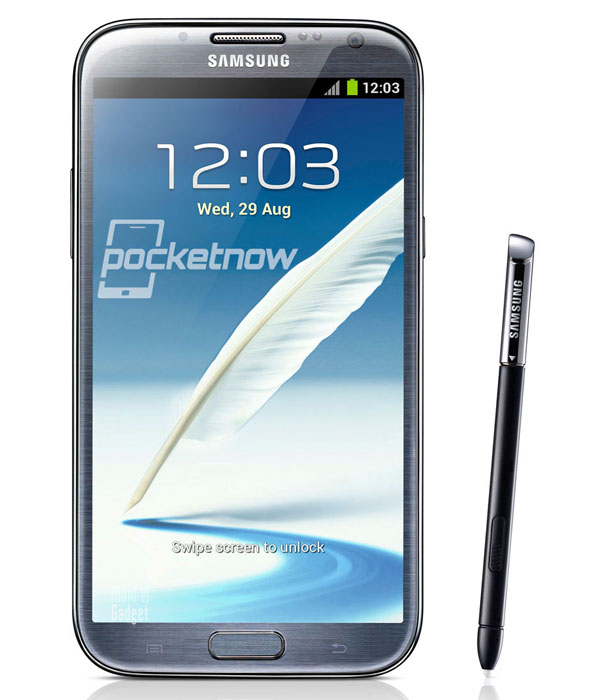 galaxy note 2 officiel Samsung Galaxy Note 2 (Officiel): Photos, Video, Fiche Technique