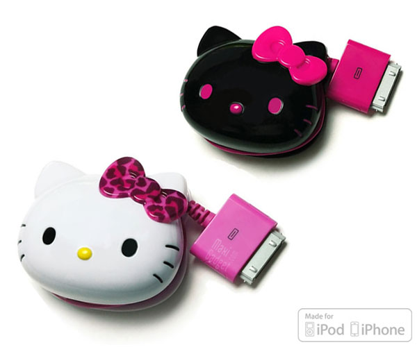 hello kitty chargeur iphone ipod Hello Kitty: Chargeur Fashion pour iPhone et iPod (Officiel)
