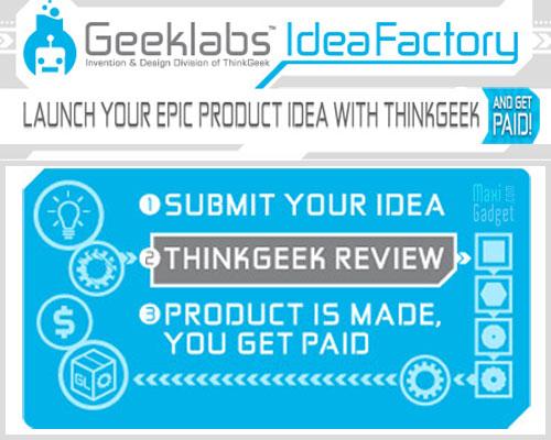 proposer un concept de gadget et devener millionnaire avec ideafactory