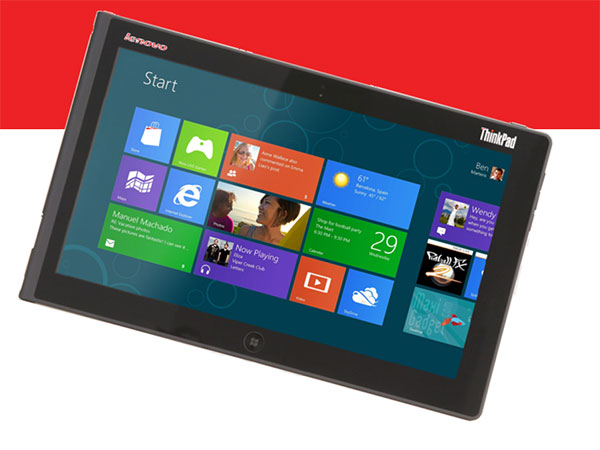 lenovo thinkpad tablet 2 Lenovo ThinkPad Tablet 2 sous Windows 8 avec Clavier (Photos)