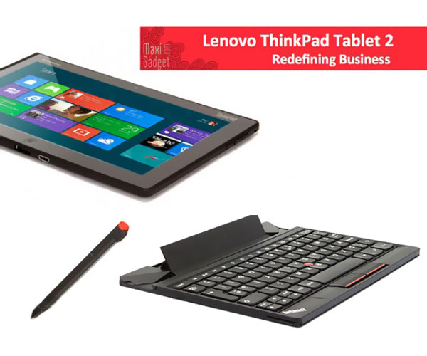 lenovo thinkpad tablet 2 leak Lenovo ThinkPad Tablet 2 sous Windows 8 avec Clavier (Photos)