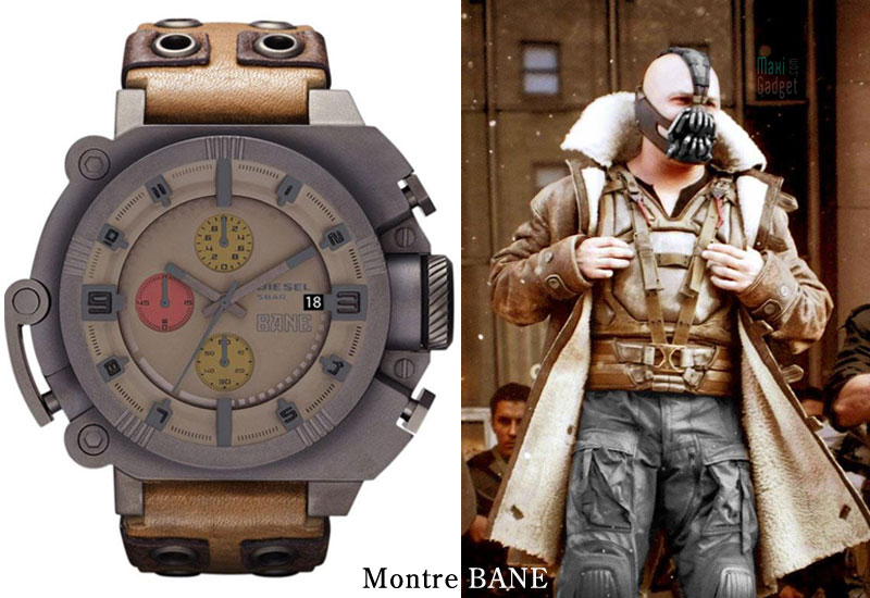 montre diesel bane dark knight rises Diesel x Batman x Bane: Montres Dark Knight Rises (Collector)