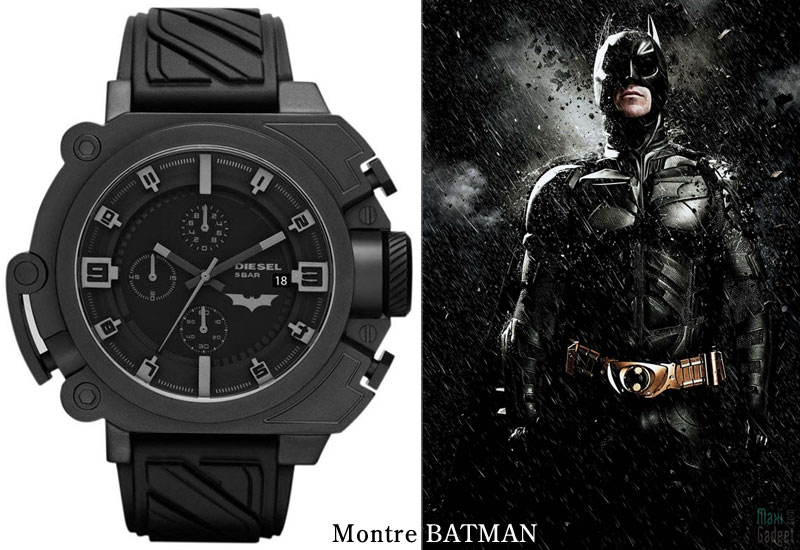 montre diesel batman dark knight rises Diesel x Batman x Bane: Montres Dark Knight Rises (Collector)