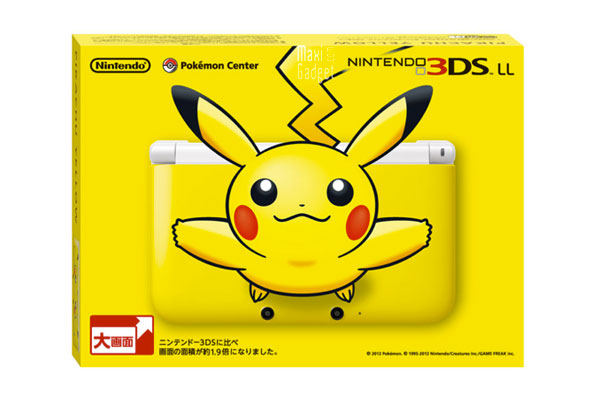 nintendo 3DS XL Pikachu Pokemon Collector Nintendo 3DS XL Pikachu Collector, pour les Fans de Pokemon