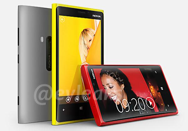 nokia lumia 920 pureview windows phone 8 (photo officielle leakée)