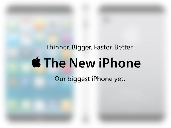 nouvel iphone 5 pouces phablet concept ipad + iphone