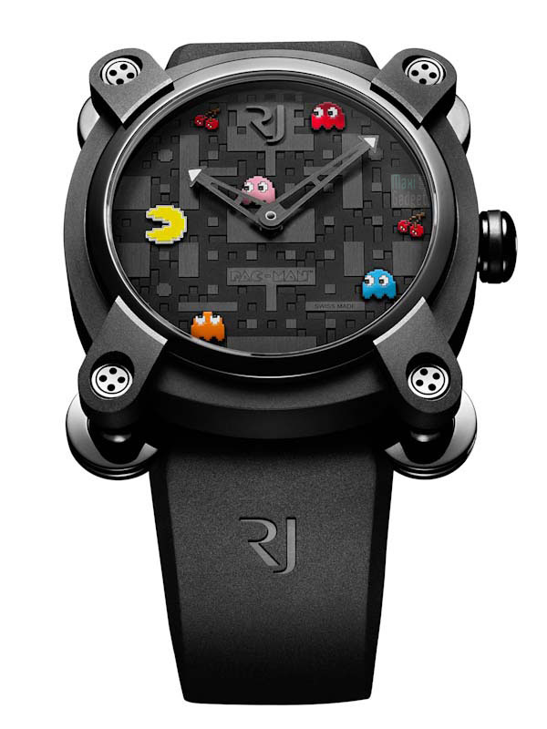 pac man montre de luxe romain jerome Pac Man: Montre de Luxe Romain Jerome pour Geek Fortuné