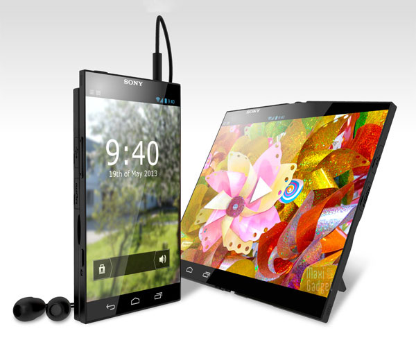sony pocket tablet mi smartphone mi tablette Sony Pocket Tablet: Smartphone avec Ecran Flexible OLED