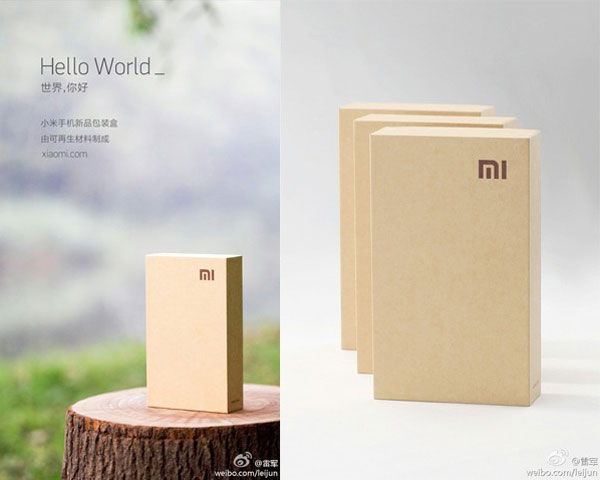 xiaomi m2 photo packaging eco friendly Xiaomi M2: Son Emballage Ecolo Peut Supporter 180Kg (Photos)
