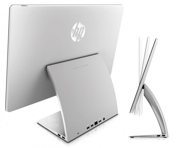 hp spectre one pc all in one sous windows 8 format 24 pouces design imac