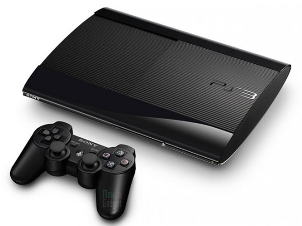 Sony PS3 Super Slim Black Sony Playstation 3 Super Slim: PS3 plus Fine moins Chère