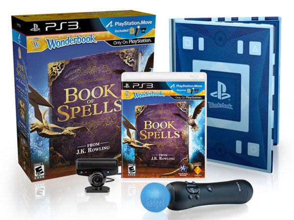 pack ps3 wonderbook book of spells bientot en vente (demo video)
