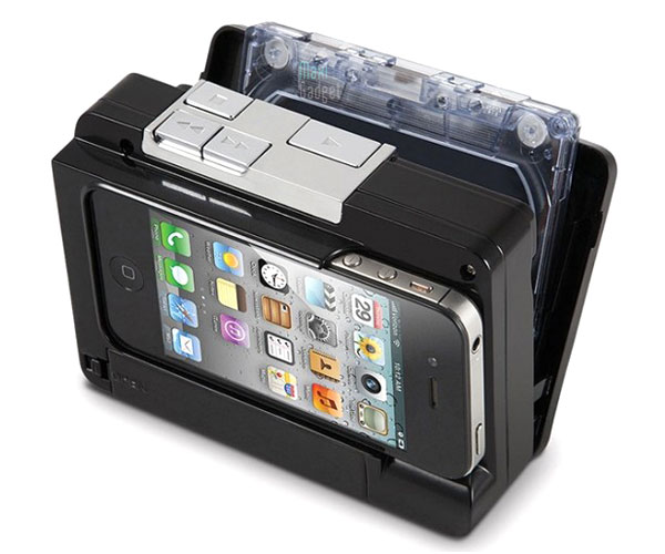 boitier de conversion cassette audio en mp3 pour iphone ipod touch