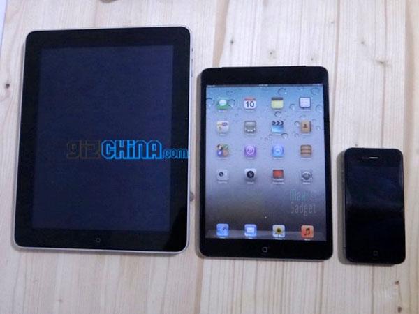 video exclusive du ipad mini avec comparatif iphone 4S iPad 3