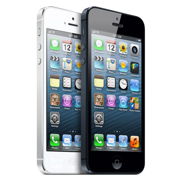 iphone5 2012 2 couleurs iPhone 5 Officiel: Résumé Nouveautés, Photos, Video, Fiche