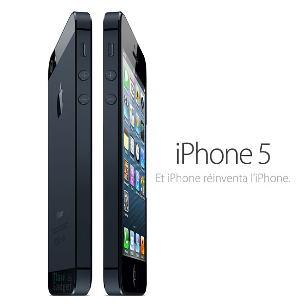iphone5 officiel iPhone 5 Officiel: Résumé Nouveautés, Photos, Video, Fiche