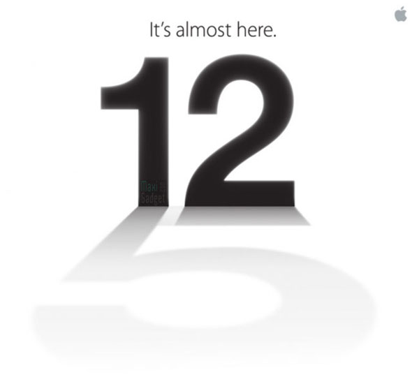 keynote apple conference iphone 5 le 12 septembre 2012 officiel