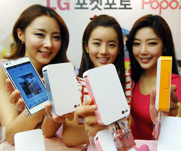 LG Pocket Photo plus petite imprimante photo sans fil pour smartphone