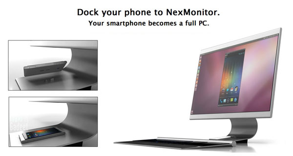 nexphone devient ordinateur NexPhone est un Smartphone Tablette, PC, Portable (Video)