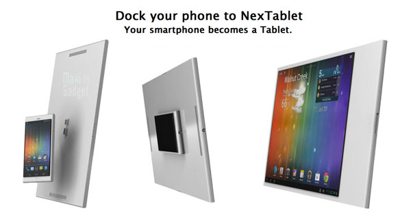 nexphone devient tablette NexPhone est un Smartphone Tablette, PC, Portable (Video)