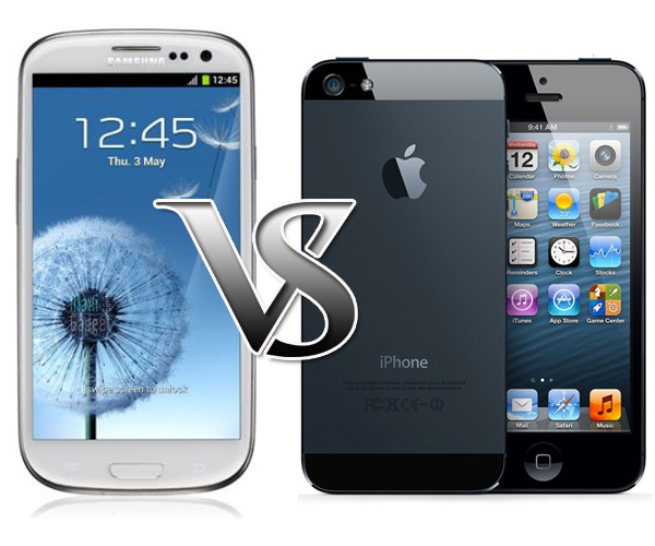 test resistance iphone5 galaxy S3 iPhone 5 ou Galaxy S3: Qui est le plus Solide (Test Video)