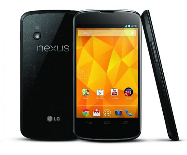 LG NEXUS 4 Officiel LG Nexus 4: Google Phone Officiel (Video, Prix, Date, Fiche Technique)