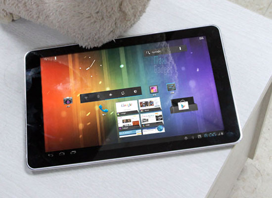 Ramos W30HD photo live Ramos W30HD: Tablette 10 pouces Full HD Quad Core Android 4.0