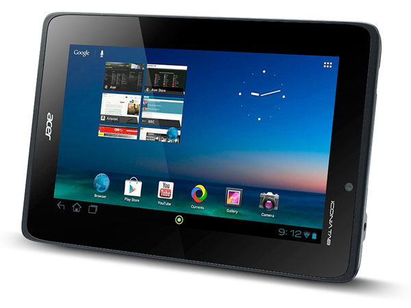 acer iconia tab a110 officiel Acer Iconia Tab A110: Tablette Quad Core Android Jelly Bean