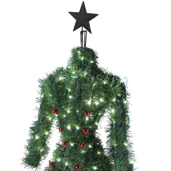 arbre de noel pour fashionista Arbre de Noel Haute Couture avec 150 LED pour Fashionista