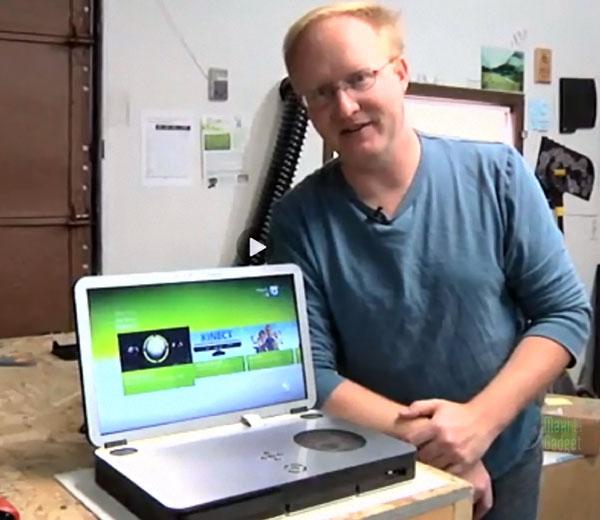 faire soi-meme une xbox 360 portable grace aux conseils de ben heck en video