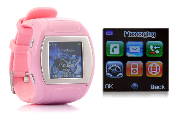 bubble montre telephone tactile geek girl Bubble: Montre Mobile Tactile Bluetooth pour Geekette