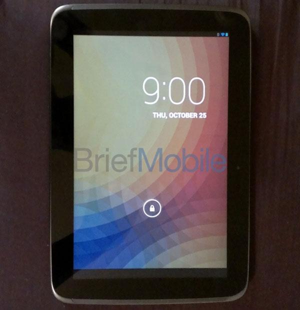 google nexus 10 tablette android 4.2 presque officielle (video, fiche technique)