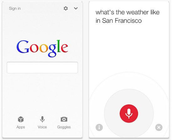 telecharger gratuitement google search avec assistant vocal pour iphone ipad