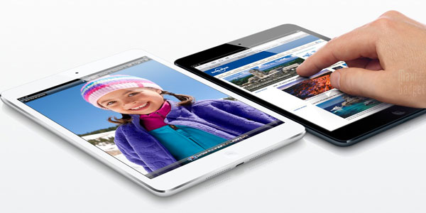 ipad mini officiel noir blanc iPad Mini Officiel: Tablette Apple 7.9 (Video, Fiche, Prix)