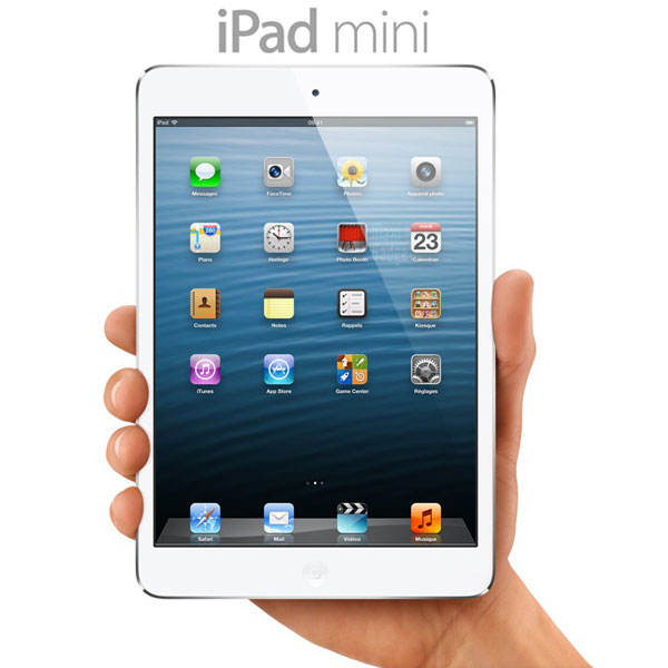 ipad mini officiel tablette apple 79p iPad Mini Officiel: Tablette Apple 7.9 (Video, Fiche, Prix)
