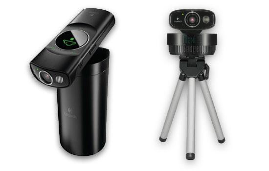 logitech broadcaster webcam hd ios osx avec support et boitier