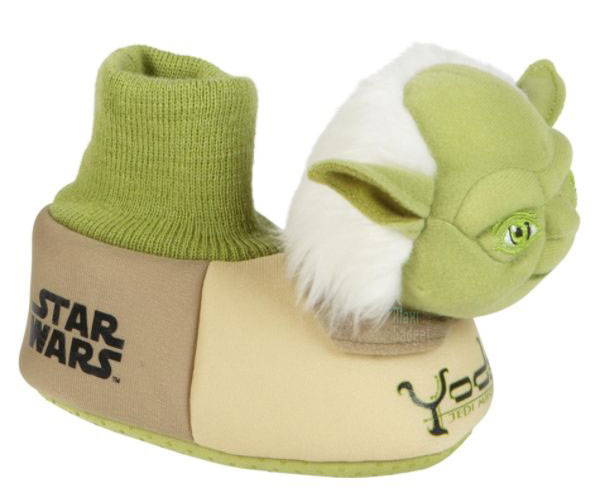 star wars chaussons yoda Star Wars: Pantoufles Officielles (Dark Vador, Chewbacca, Boba, Yoda)